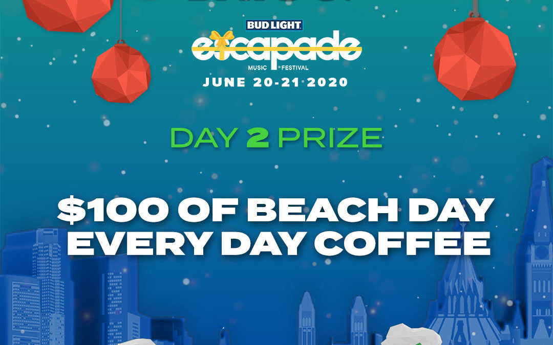 Every Day S A Beach Day 5k 2019: DAY 2 : Win $100 Worth Of Beach Day Every Day Coffee