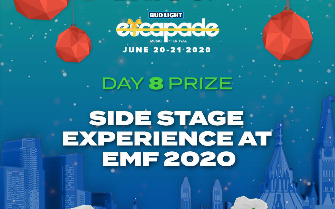DAY 8 – SIDE STAGE EXPERIENCE 👀